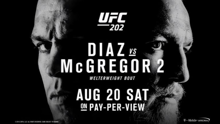 Conor McGregor vs Nate Diaz II...