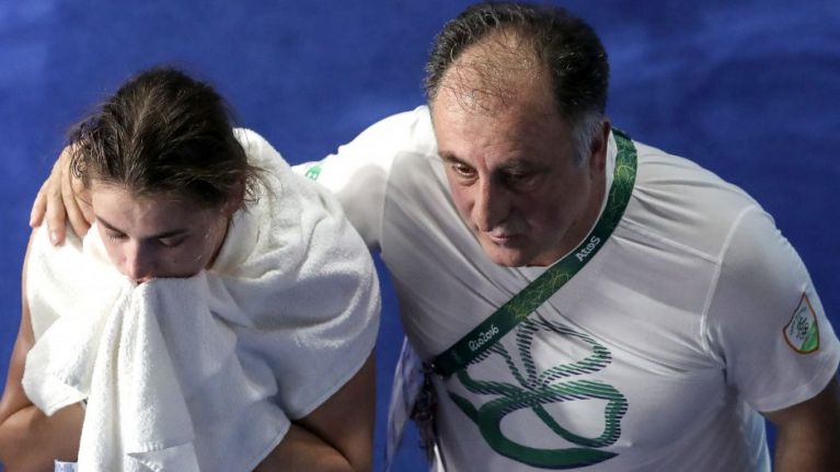 WATCH: Furious Zaur Antia rages at judges following Katie Taylor's shock Olympic defeat