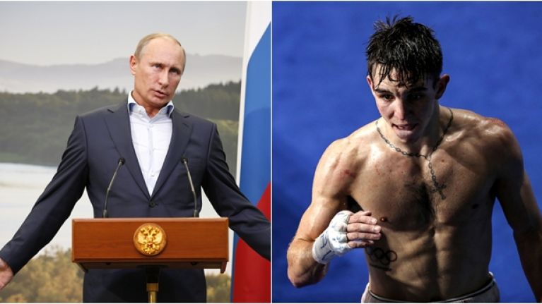 Michael Conlan calls out Vladimir Putin in first tweet since controversial loss