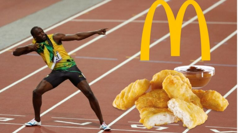 Nutritionist explains why Usain Bolt's 100 McDonald's nuggets-a-day diet at Beijing Olympics worked