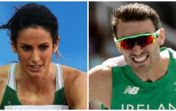 WATCH: Jessica Barr in tears as she reflects on her brother's fourth place finish