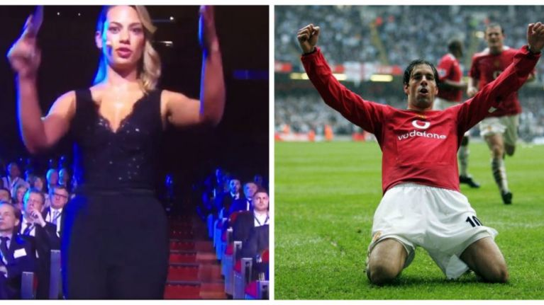 Champions League draw presenter had a bit of a nightmare introducing Ruud van Nistelrooy