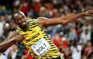 It's official! Usain Bolt is a massive GAA fan