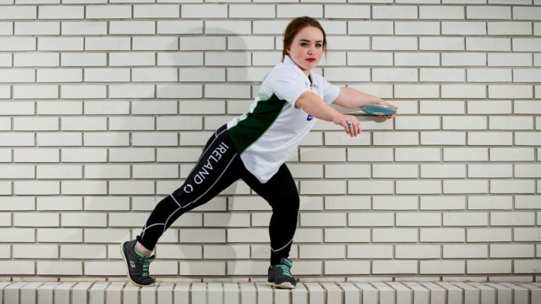 Meet Niamh McCarthy, possibly the world's fastest learning discus thrower