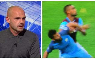 Danny Murphy's view on Sergio Aguero's elbow has angered Manchester United fans