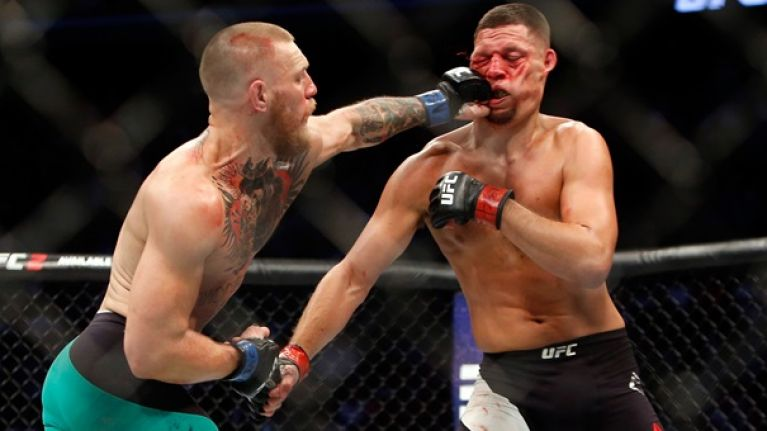 Stats prove that the main event of UFC 202 essentially boiled down to volume vs. power