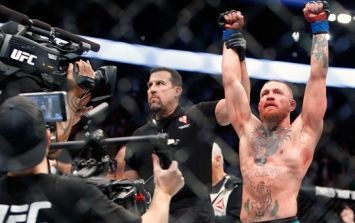 John McCarthy tweets about UFC 202 main event and why Conor McGregor wasn't guilty of timidity