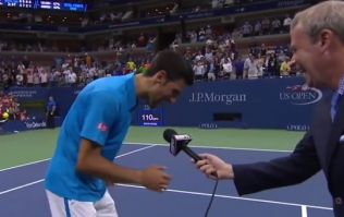 WATCH: Novak Djokovic breaks into Phil Collins song and dance after US Open win