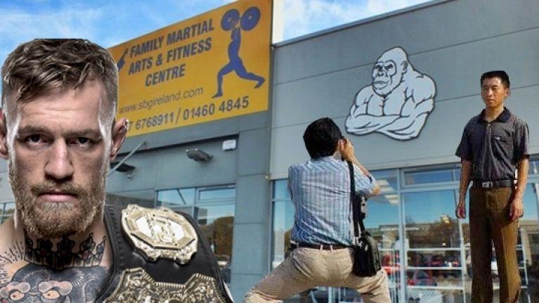 A bizarre tourist craze has seen Conor McGregor's gym become extremely popular