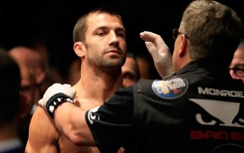 Luke Rockhold dives into the world of modelling as he awaits call for next fight