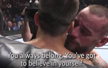 CM Punk had some inspirational words for Mickey Gall following his UFC debut loss
