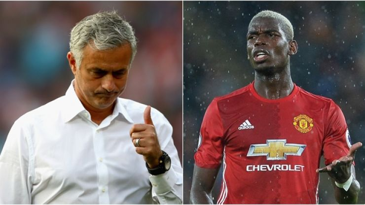 Jose Mourinho responds to Paul Pogba criticism after Spurs draw
