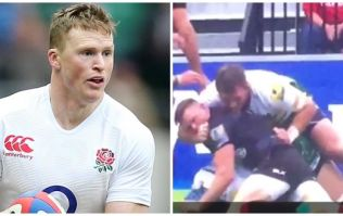 WATCH: England winger Chris Ashton could be in trouble again after alleged bite