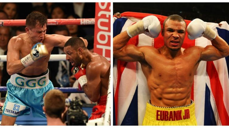 Chris Eubank Jr criticised for 'shameful' tweet following the Brook vs. GGG fight