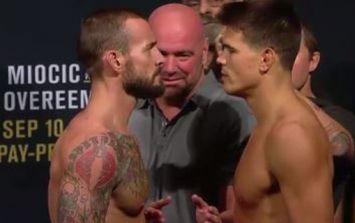 Mickey Gall very confident he knows the reason behind CM Punk's odd handshake refusal
