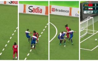 WATCH: Blind player's wonder goal at the Paralympics would make Roberto Baggio proud