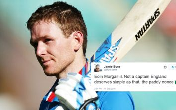 English turn on Eoin Morgan after Dubliner takes terrorism stand