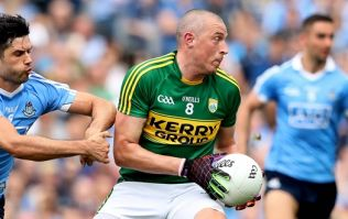 Kieran Donaghy could see the funny side of a truly amazing slam dunk attempt