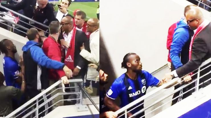 Watch: Didier Drogba confronts opposing fans after Montreal Impact defeat