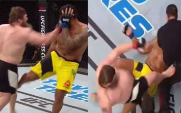 WATCH: Referee kicking incident overshadows Roy Nelson's huge knockout victory