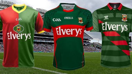 What Mayo's jersey could look like if they changed to a foreign ...