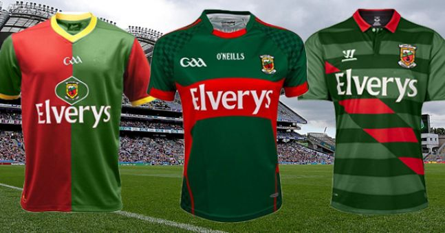 What Mayo's jersey could look like if they changed to a foreign manufacturer