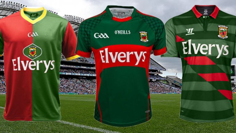 What Mayo s jersey could look like if they changed to a foreign manufacturer cc7dbd881