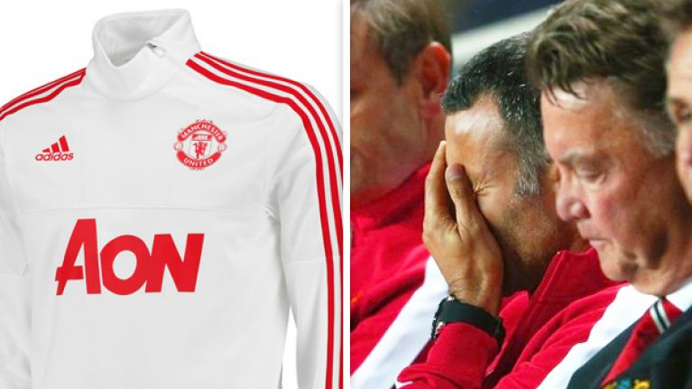 wholesale dealer cad6b d4cff PICS: Manchester United's tweet about their new adidas ...