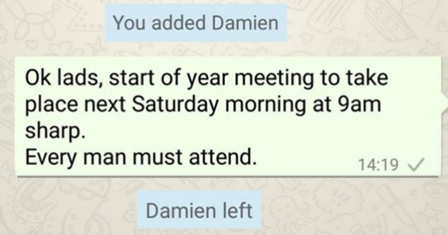7 WhatsApp messages every GAA player receives during pre-season