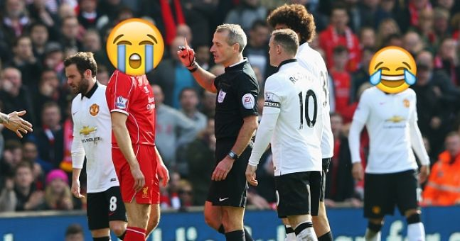 Manchester United Fans Create An Embarrassing Emoji Banner To Wind Up Liverpool Fans Sportsjoe Ie