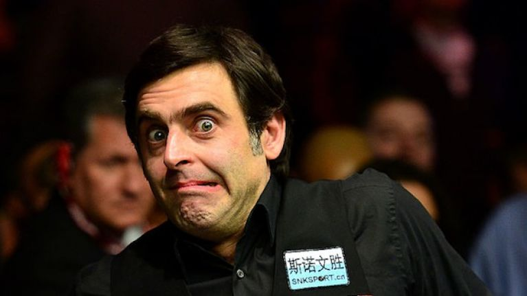 VIDEO: Ronnie O'Sullivan hits either the luckiest fluke ever or the greatest trick shot of all time