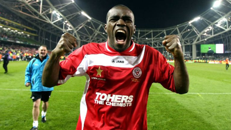 39-year-old League of Ireland icon Joseph N'Do signs for Mayo junior soccer club