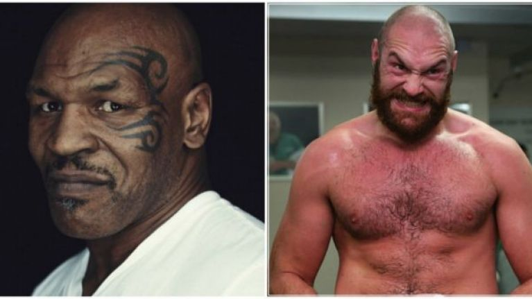 Former champion Mike Tyson has paid the biggest compliment there is to Tyson Fury