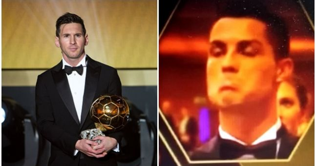 Watch: Cristiano Ronaldo's reaction to Lionel Messi ...