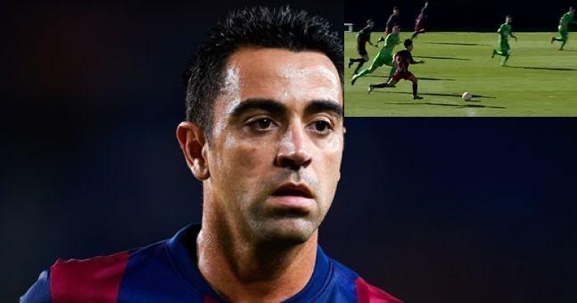Xavi has named Lionel Messi's natural successor at Barcelona