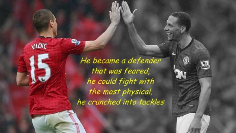 Rio Ferdinand welcomes former defensive partner to retirement with heartfelt message