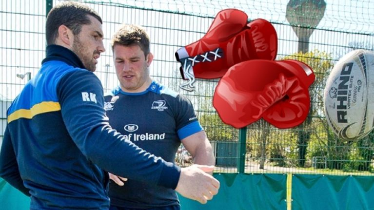 WATCH: Isaac Boss spills the dirt on Leinster's best (and worst) boxer