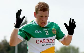 Come all ye Faithful to admire the tidy new Offaly GAA jersey