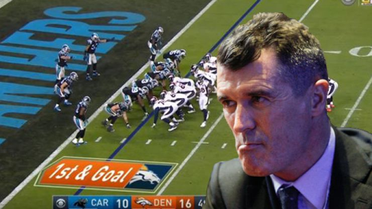 WATCH: If Roy Keane was a Super Bowl pundit, it would have been absolutely spectacular
