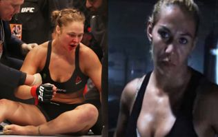 One of Ronda Rousey's fiercest rivals reaches out to her after she admitted contemplating suicide