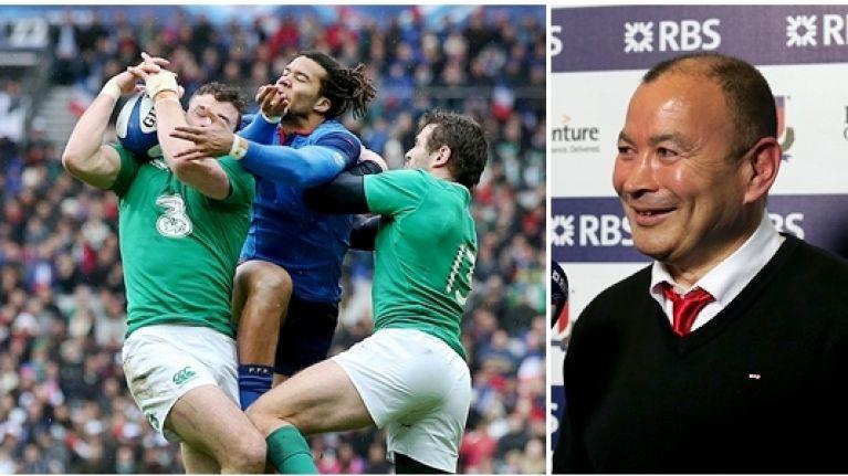 Eddie Jones' comments on the Irish team will not go down well with Joe Schmidt