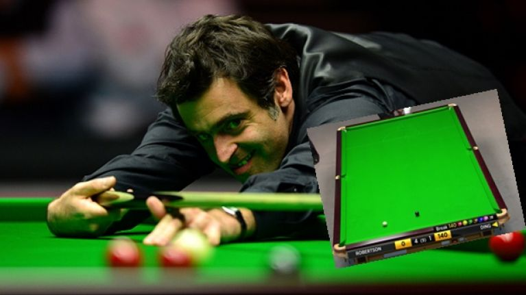 Watch: Sorry Ronnie O'Sullivan, but another player doesn't think the prize for a 147 is 'too cheap'