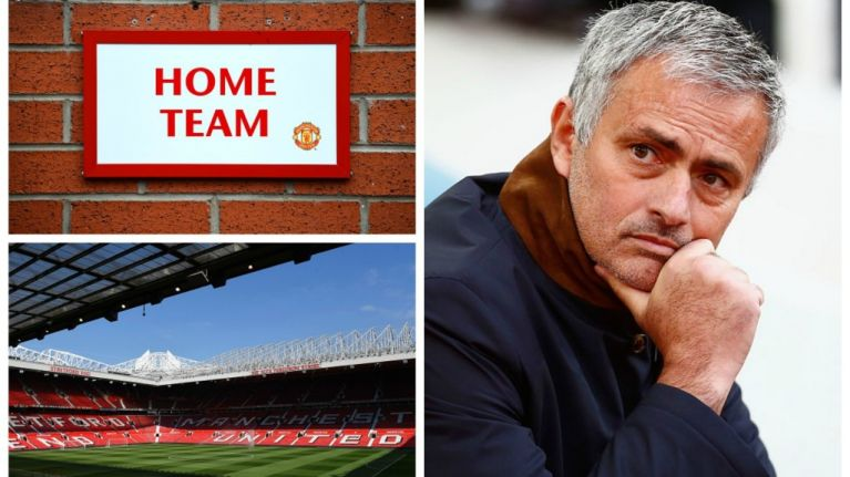 Jose Mourinho IS set for Old Trafford in the near future... but it's not what you might think