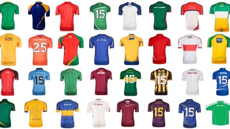 6a4b78324e183 Ranking every inter-county GAA jersey in order of deliciousness ...