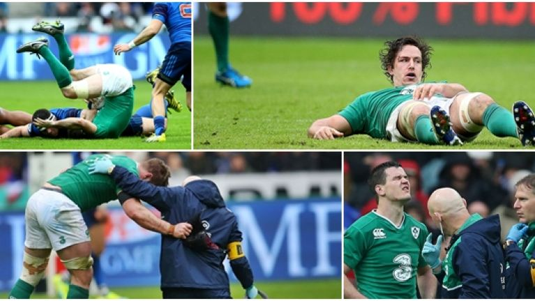 Ireland's injury update is enough to make even the toughest of us wince