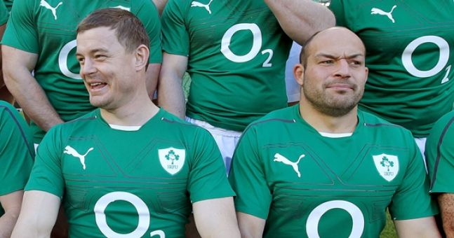 Brian O'Driscoll was treated a little differently to his Ireland teammates whenever they stayed at hotels