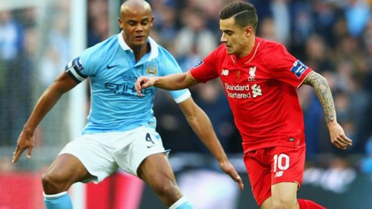 VIDEO: Vincent Kompany's utter class shines through just moments after Liverpool's League Cup heartache