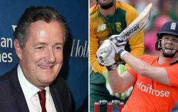 Piers Morgan hits out at Eoin Morgan over not singing England anthem