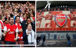PIC: The Emirates is set for a class mosaic display ahead of Barcelona clash