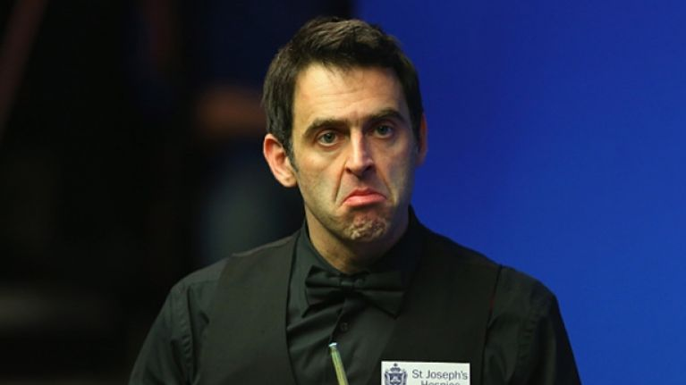 Ronnie O'Sullivan seems like he couldn't care less about the World Championships